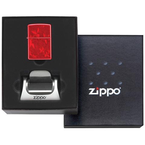 Подарочная коробка с подставкой 142226 для зажигалки Zippo