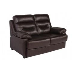 Диван кровать 2-х местный (MK-4704-BRL) Тёмно-коричневый