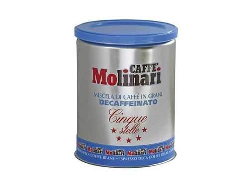 Кофе молотый Molinari DECAFFIENATO, 250 г