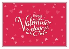 Açıqca (Открытки) Happy Valentines Day red