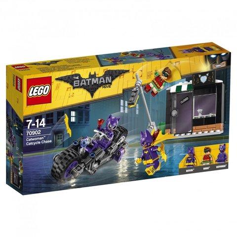 LEGO Batman Movie: Погоня за Женщиной-кошкой 70902 — Catwoman Catcycle Chase — Лего Бэтмен Муви Кино
