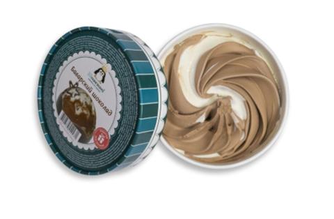 33 пингвина  Ice box Present Баварский шоколад 1000 мл