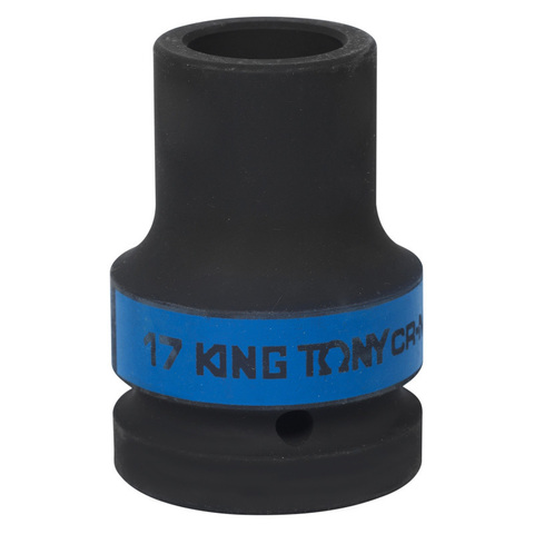 KING TONY (853417M) Головка торцевая глубокая ударная четырехгранная 1