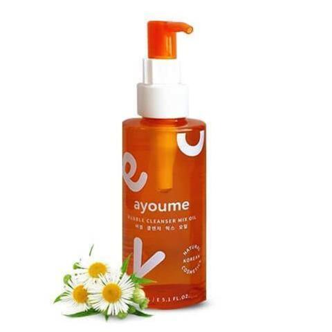 Гидрофильное масло-пенка для лица 2 в 1, 150 мл,  Ayoume Bubble Cleanser Mix Oil