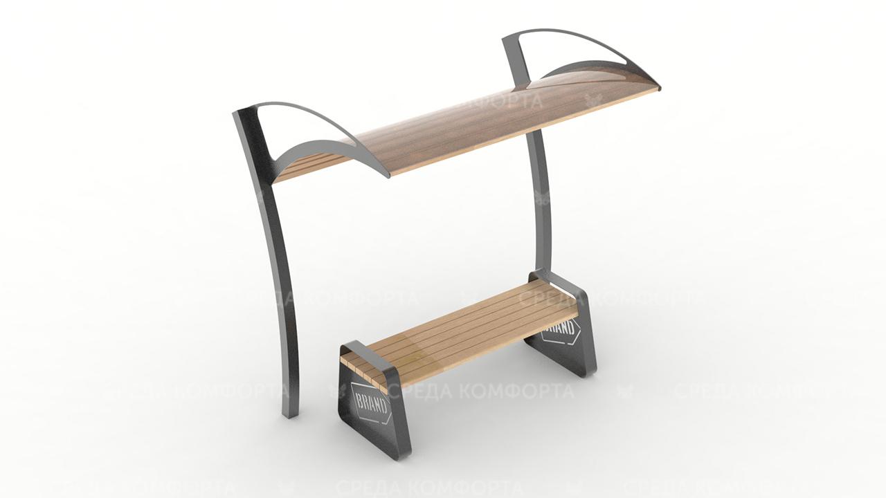 Скамейка с навесом SCAM0124