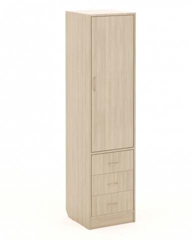 Шкаф-пенал П-01 ясень шимо светлый