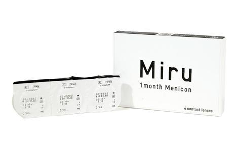 Японские контактные линзы Miru 1month купить в Хабаровске