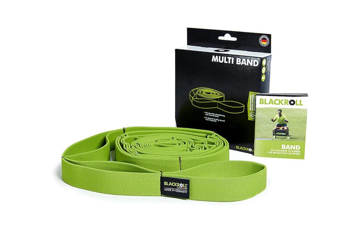 Оборудование BLACKROLL® для тренинга Эластичная лента текстильная BLACKROLL® MULTI BAND 270 см blackroll-multiband-green.jpg
