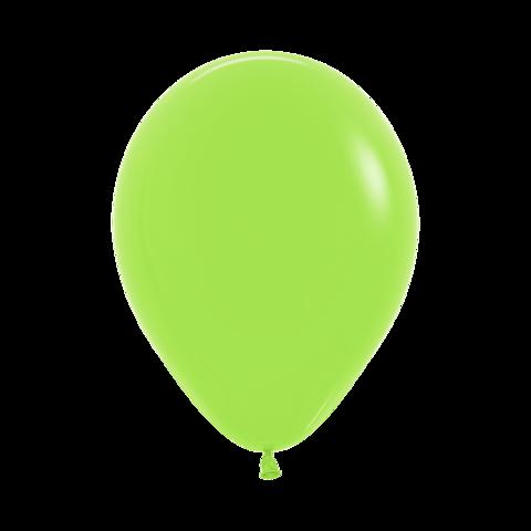 Латексный воздушный шар, цвет лайм пастель