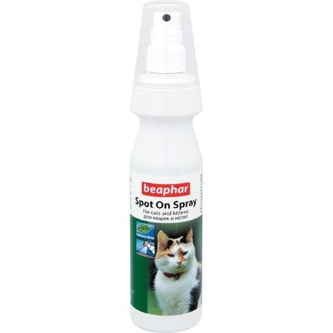 Beaphar Bio+ спрей для кошек от блох и клещей на натуральных маслах 150мл