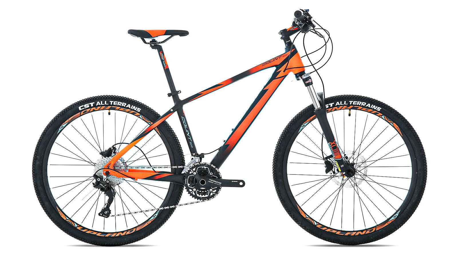 Велосипед горный Upland COUNT 300 черно-оранжевый