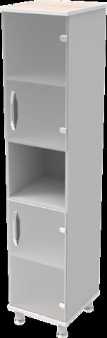 Шкаф медицинский общего назначения 1.01 тип 3 АйВуд Medical Office - фото