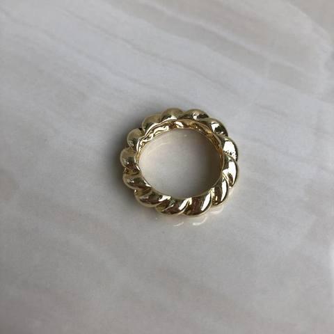 Кольцо Хирасоль, позолота