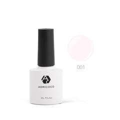 Цветной гель-лак ADRICOCO №001 светло-розовый (...