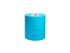 Перфорированные тейпы для тела 7,5см х 5м, хлопок голубой