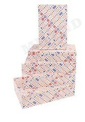 Набор прямоугольных коробок 5 в 1 Новогодняя посылка (40 x 28 x 10 - 32 x 20 x 6 см), 1 набор.