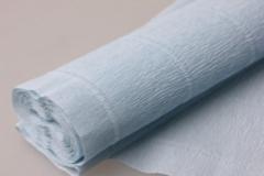 Бумага гофрированная простая нежно-голубой (559)