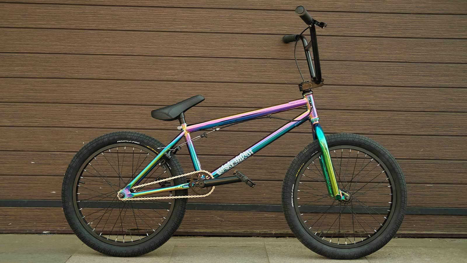 Велосипед бмх цвет радужный