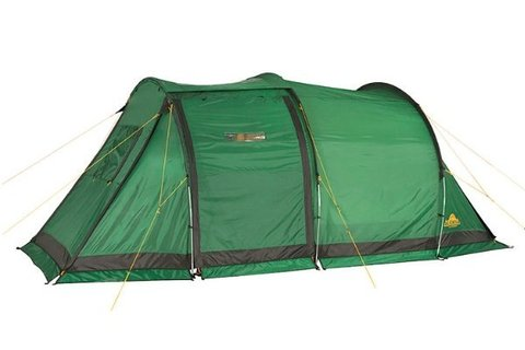 Картинка палатка кемпинговая Alexika NEVADA 4 green, 450x250x175  - 3