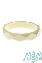 Молочный браслет из пищевого силикона МАМидея бежевый