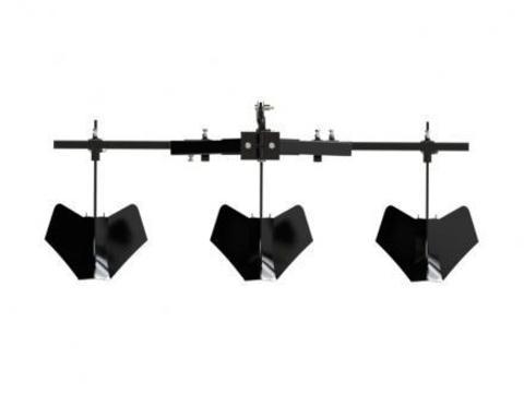Тройной окучник Скаут для минитрактора и мотоблока
