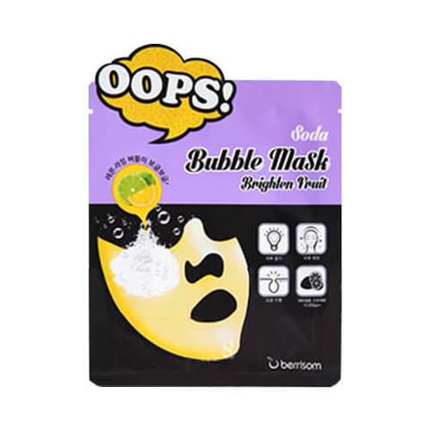 Пузырьковые маски для лица Berrisom Oops Soda Bubble Mask