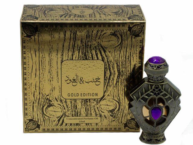 Kashab oud gold edition Кашаб уд голд эдишн  15мл арабские масляные духи от Май Парфюмс My Perfumes