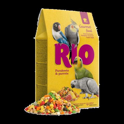 Rio Гурмэ Сухой корм для средних и крупных попугаев