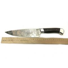 Нож Шеф-повар средний, цельнометаллический, сталь D2, венге, дюраль