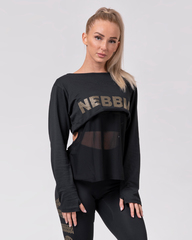 Женский рашгард Nebbia 805 Intense Mesh T-shirt