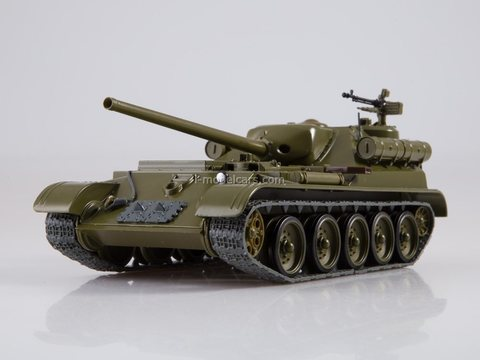 Self-propelled gun SU-101 Our Tanks #44 MODIMIO Collections