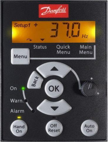 Панель управления LCP 12 (132B0101) с потенциометром для FC-051