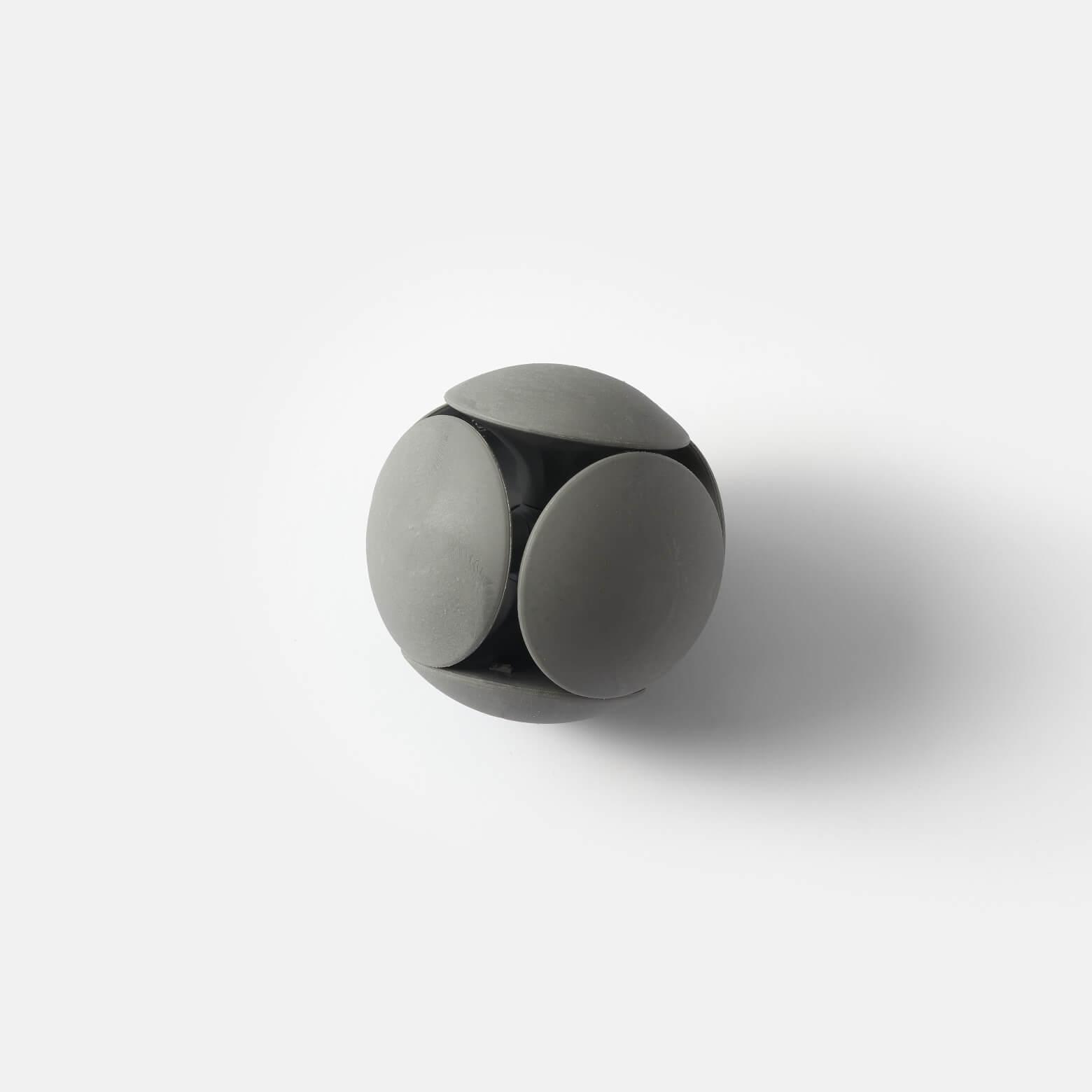 HMM Eraser Ball — ластик-подставка: серый