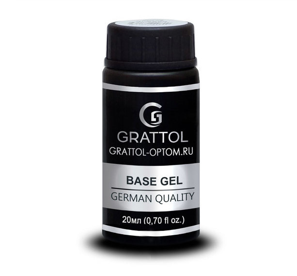 База GRATTOL Rubber Base Gel 20мл