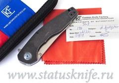 Нож CKF S.S.E. Black (М390, титан, подшипники) SSE