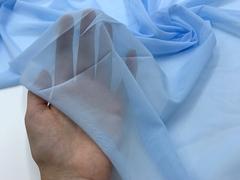 Сетка эластичная голубая