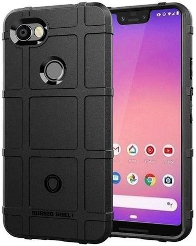Чехол на Google Pixel 3a XL цвет Black (черный), серия Armor от Caseport