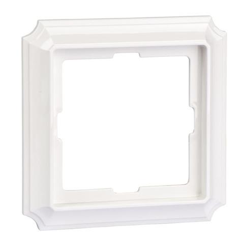 Рамка на 1 пост. Цвет Полярный белый. Merten. Antique System Design. MTN483119