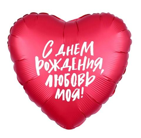 Шар фольга  с НАДПИСЬЮ/РИСУНКОМ  (в ассорт.)