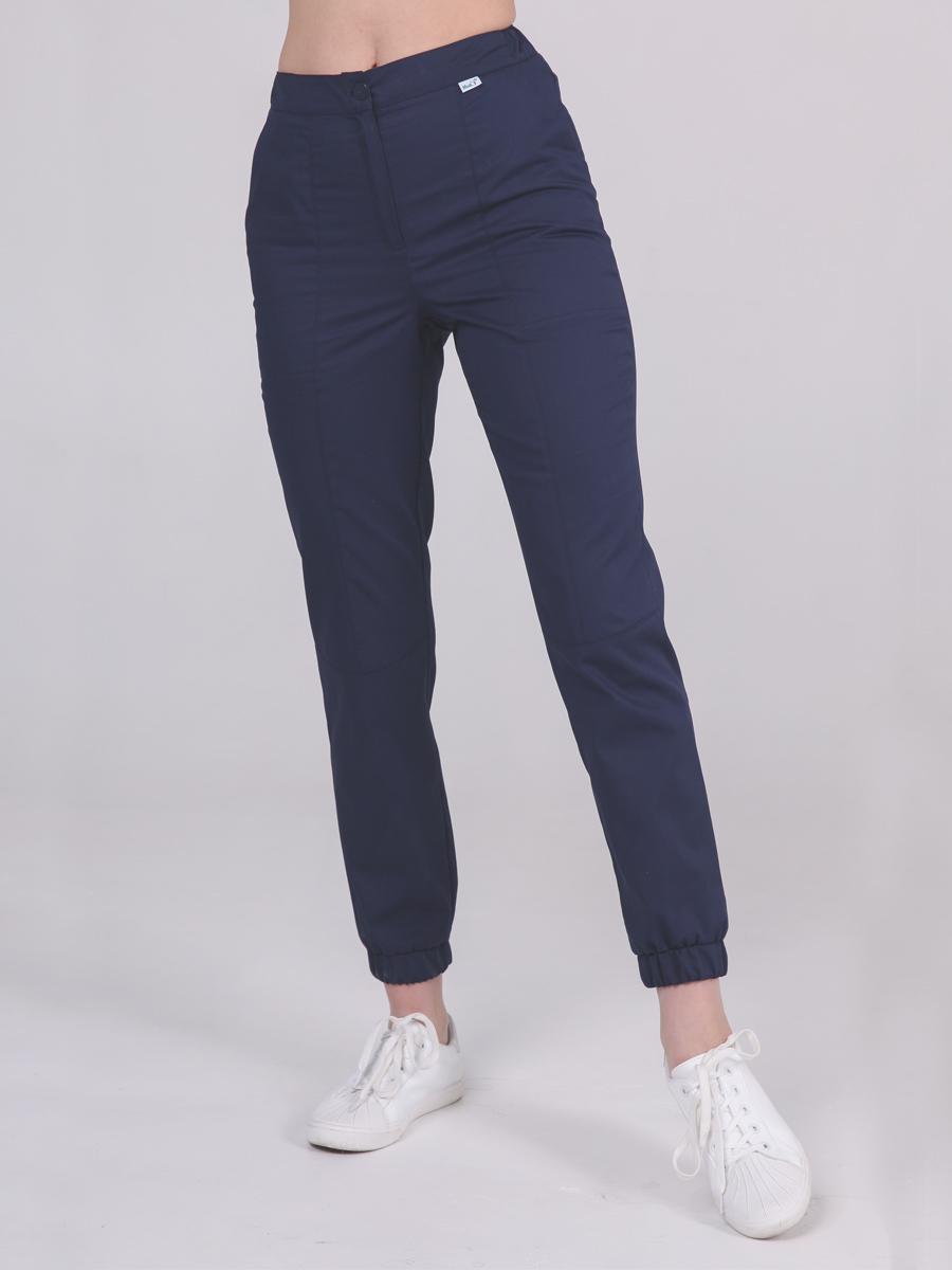 Синие медициские брюки