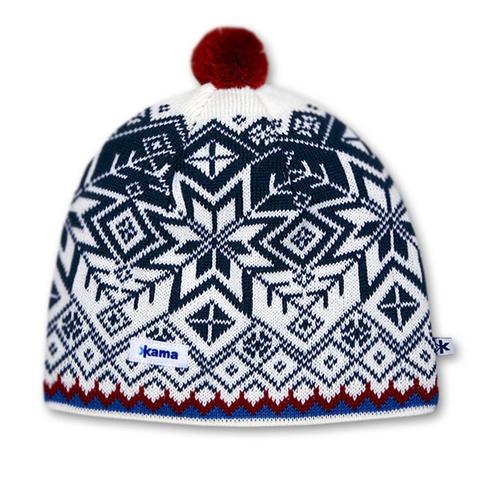 Картинка шапка Kama Aw41 Off-White - 1