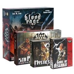 Blood Rage / Кровь и ярость + 3 дополнения