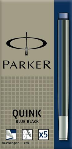 Картридж с чернилами для перьевой ручки Z11, упаковка из 5 шт., цвет: Blue-Black