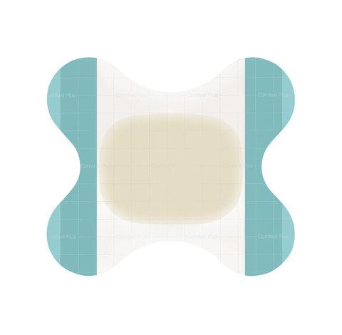 Комфил Плюс - Comfeel Plus, на пятку, для заживающей язвы, бабочка, 6х8 см