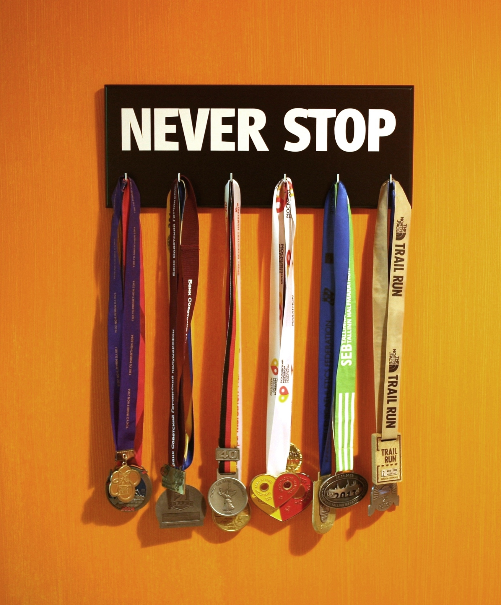 Never stop