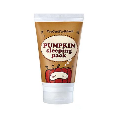 Too Cool For School   Pumpkin Sleeping Pack Ночная маска с экстрактом тыквы средняя