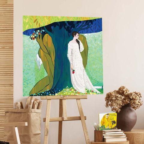 Картина «Красавица и Чудовище»