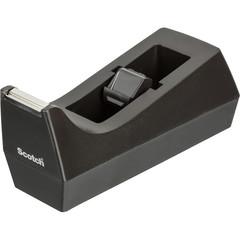 Диспенсер для скоча клейкой ленты Scotch настольный черный