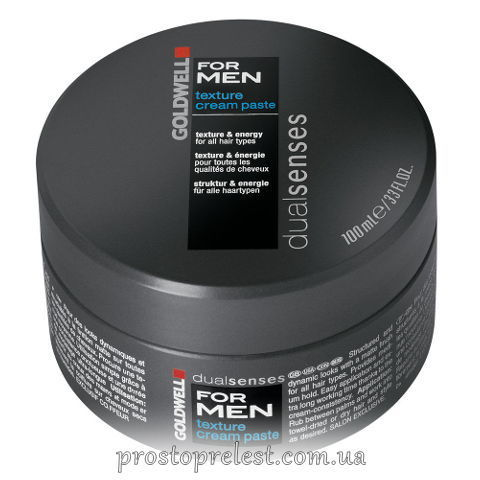 Goldwell Dualsenses Men Styling Texture Cream Paste - Чоловіча паста для моделювання волосся