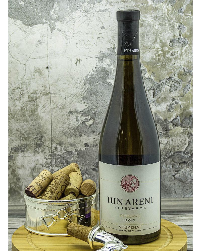 Вино Hin Areni Белое Сухое Резервное 2017 г.у. 14% 0,75 л.